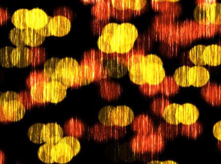 Orange bokeh blur abstract background photo