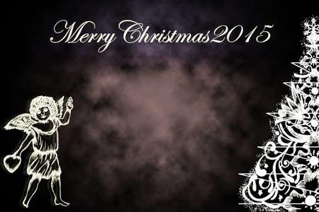 Christmas card 2015 background photo