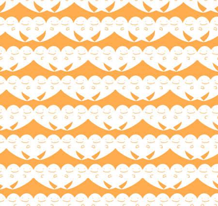 cute ghost: Vector Seamless halloween cute ghost pattern background.