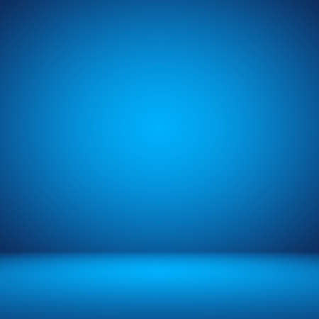 blue backgrounds: Empty Dark blue with Black vignette Studio well use as background.