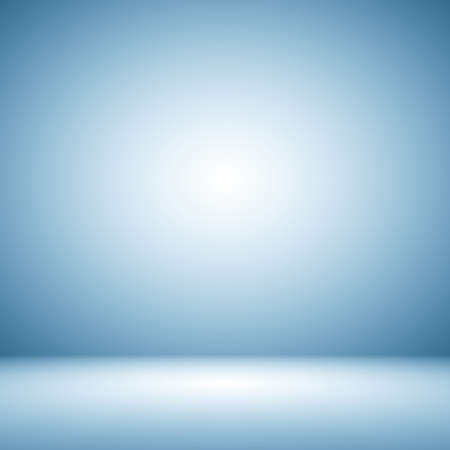 Empty Dark blue with Black vignette Studio well use as background. 版權商用圖片 - 39281786