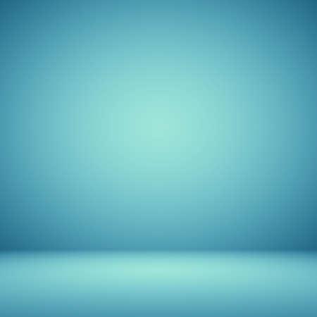 Leeg Donkerblauw met Zwart vignet Studio goed te gebruiken als achtergrond.