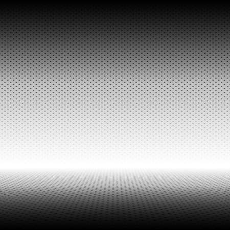 gradient: Empty Grey with Black Polka dots  Studio well use as background.