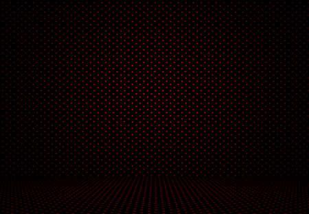 lunares rojos: Extracto rojo de lunares de fondo de San Valent�n Navidad dise�o de dise�o, estudio, sala,, modelo, plantilla web, informe de Bussiness con c�rculo de color degradado suave. Foto de archivo