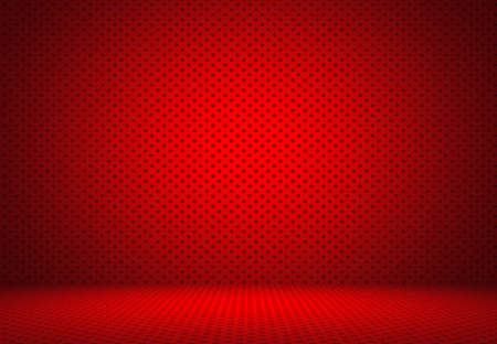 bussiness: Abstract Red Polka dots background Christmas Valentines layout design,studio,room, web template ,Bussiness report with smooth circle gradient color. Stock Photo
