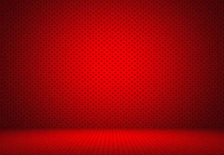 lunares rojos: Extracto rojo de lunares de fondo de San Valent�n Navidad dise�o de dise�o, estudio, sala, plantilla web, informe de Bussiness con c�rculo de color degradado suave.