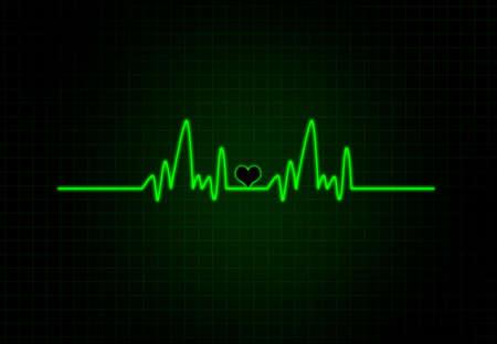 cardiac: Cardiac Frequency in white Colour with heart shape.