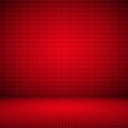 Abstract Red background Christmas Valentines layout design,studio,room, web template ,Business report with smooth circle gradient color. Standard-Bild