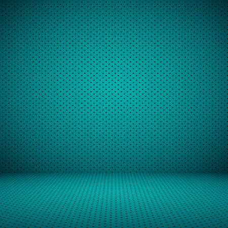 azul turqueza: Azul oscuro liso con Negro Estudio viñeta bien utilizar como fondo, el informe de negocio, digital, plantilla de página web. Foto de archivo