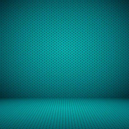 Gladde Donkerblauw met zwarte vignet Studio ook gebruiken als achtergrond, zaken rapport, digitaal, website template. Stockfoto
