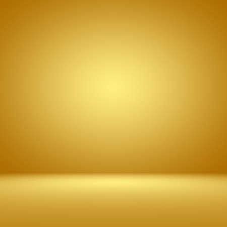 Lujo Oro Estudio bien utilizar como fondo, el diseño y presentación. Foto de archivo - 45825697