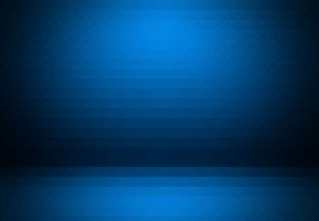 Smooth Dark blue with Black vignette Studio well use as background,business report,digital,website template. Zdjęcie Seryjne - 48935254