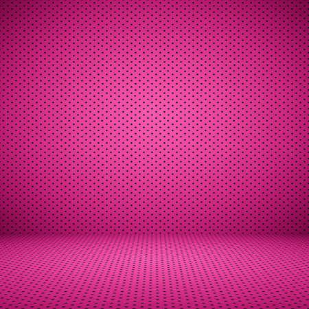 rosa negra: Pink resumen bien usando como fondo de San Valentín con Lunares