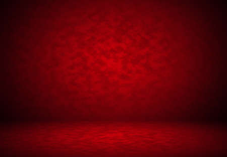illustration background: Abstract Red background Christmas Valentines layout design,studio,room, web template ,Business report with smooth circle gradient color. Stock Photo