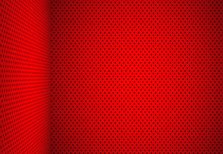 Abstract Red Polka dots background Christmas Valentines layout design,studio,room, ,pattern,web template ,Bussiness report with smooth circle gradient color.