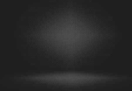 Abstract Lege donkere zwarte gradient luxe achtergrond Studio wand, vloer en ruimte achtergrond - goed te gebruiken als achtergrond.