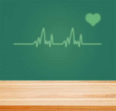 cardiac: Table top counter with Cardiac Frequency with heart shape. - well used for present and promote Health care products.