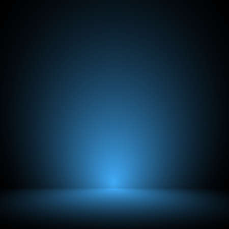 Empty blue studio room, used as background for display your products - Vector Stock Vector - 97573597