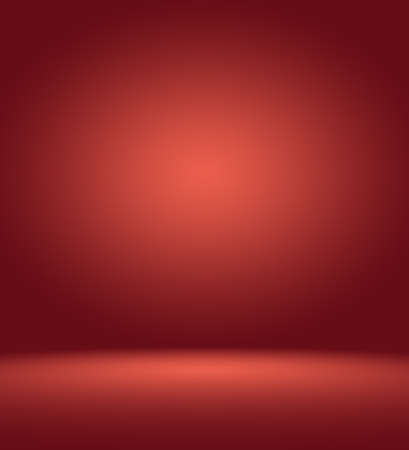 Abstract Red background Christmas Valentines layout design,studio,room, web template ,Business report with smooth circle gradient color