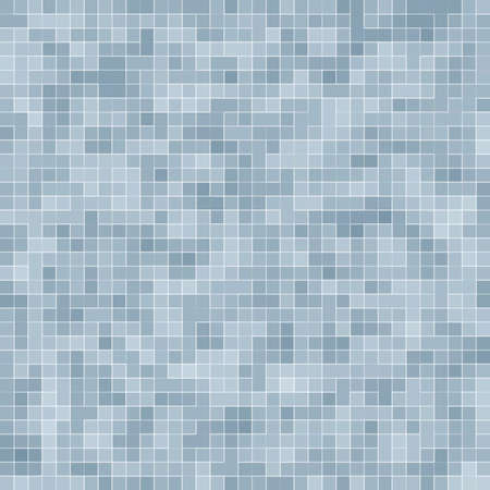 Texture Swimming pool Mosaic tile background. Wallpaper, banner, backdrop. Stockfoto
