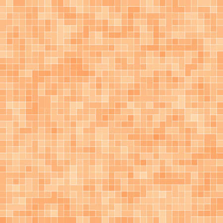 Abstract colorful geometric pattern, Orange, Yellow and Red stoneware mosaic texture background, Modern style wall background.