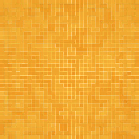 Abstract colorful geometric pattern, Orange, Yellow and Red stoneware mosaic texture background, Modern style wall background. Foto de archivo - 116735083