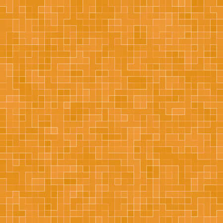 Abstract colorful geometric pattern, Orange, Yellow and Red stoneware mosaic texture background, Modern style wall background. Foto de archivo - 116735088