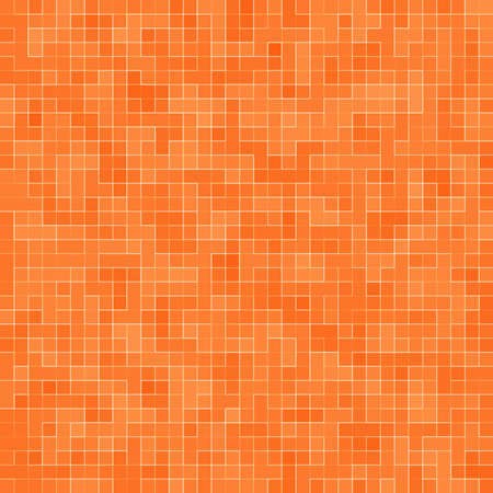 Abstract colorful geometric pattern, Orange, Yellow and Red stoneware mosaic texture background, Modern style wall background. Foto de archivo - 116735218