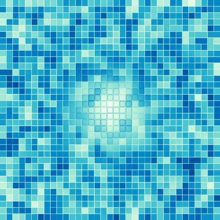 Texture Swimming Pool Mosaic Tile Background. Wallpaper, Banner ...
