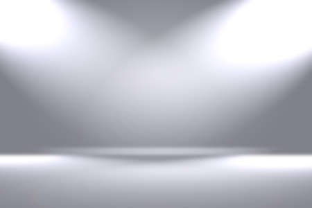Abstract luxury blur Grey color gradient, used as background studio wall for display your products