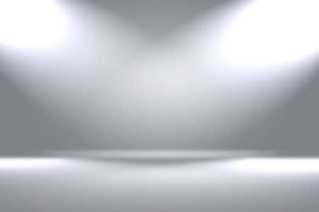 Sfocatura di lusso astratta Gradiente di colore grigio, utilizzato come parete dello studio di sfondo per visualizzare i tuoi prodotti