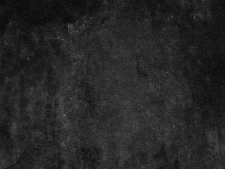 Old black background. Grunge texture. Dark wallpaper. Blackboard Chalkboard Concrete.