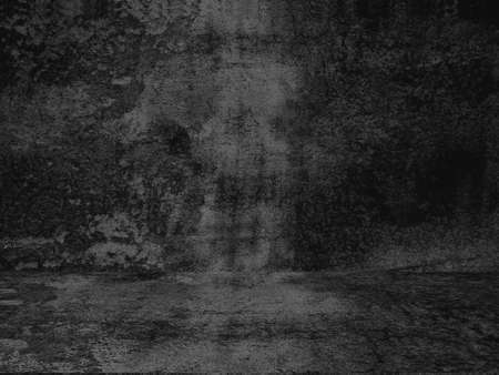 Old black background. Grunge texture. Dark wallpaper. Blackboard Chalkboard Concrete Stock fotó