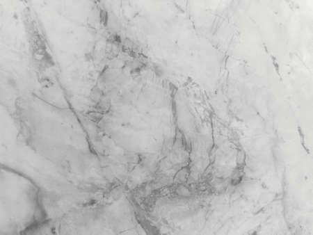 Weiße Marmorstruktur mit natürlichem Muster für Hintergrund- oder Designkunstwerke. Hohe Auflösung.