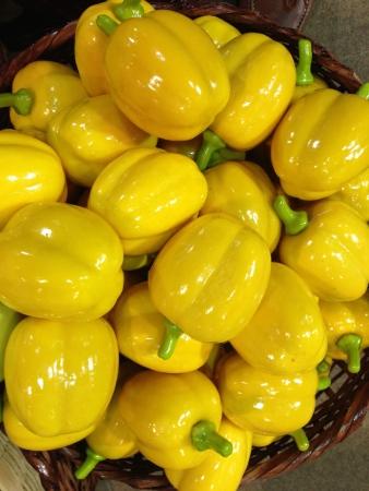 assume: Yellow sweet pepper Stock Photo