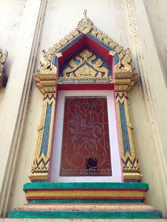 провода: Таиланд Храм окно Фото со стока