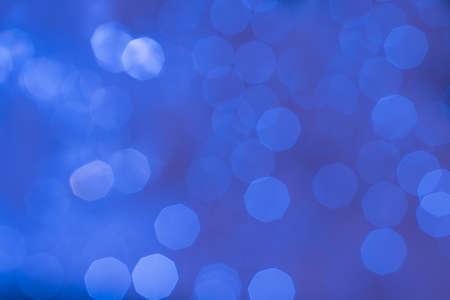 cobalt: Abstract glittering cobalt blue bokeh background defocused