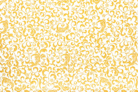 Seamless abstract pattern. Elegant ornate texture in baroque style background