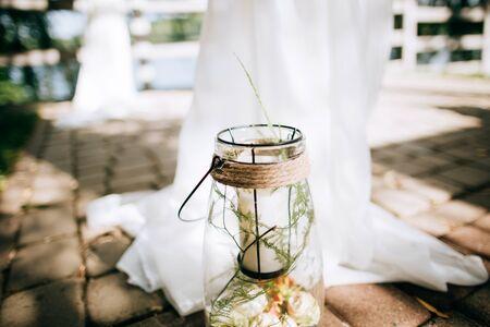 Handmade wedding decoration, candlestick, handiwork, wedding diy, inspiration