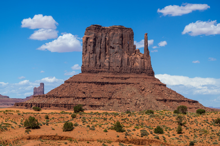 tribal park: View of Monument Valley Navajo Tribal Park