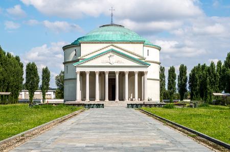 rosin: A little Pantheon in Turin - Italy Stock Photo