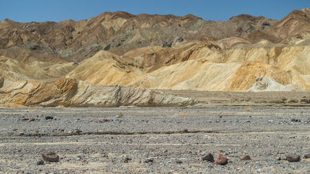 View at the Death Valley National Park Stock Photo