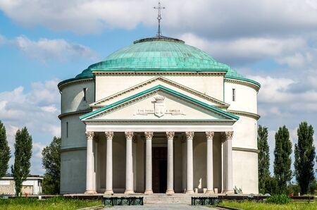 satanic: A little Pantheon in Turin - Italy Stock Photo