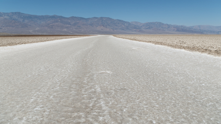 torrid: View at the Death Valley National Park Stock Photo