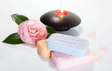 Incense and soaps photo