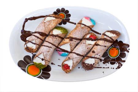 cannoli pastry: Cannoli, Sicilian pastry
