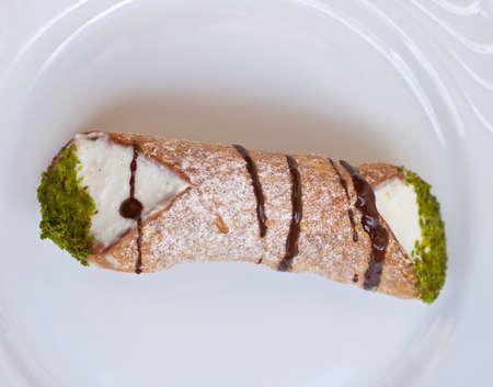 sycylijski: Cannolo, cukierniczych Sycylijska