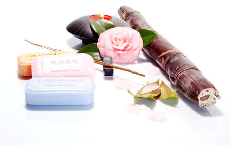 Soaps and incense photo