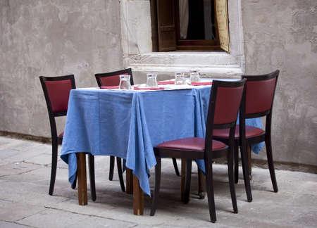 Restaurant table Stock Photo - 9257294