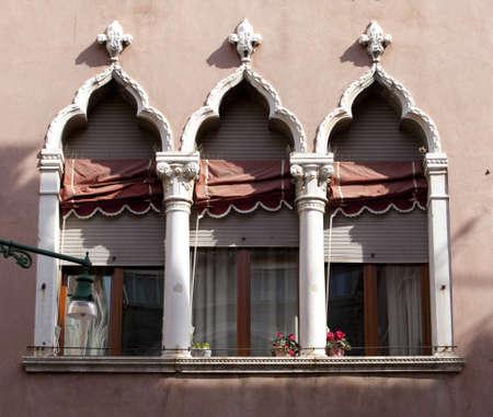 Typical Venice windows photo